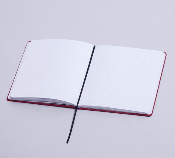 MN34 Mindnotes in Bookcover - Umschlag mit ART PAPER Einband