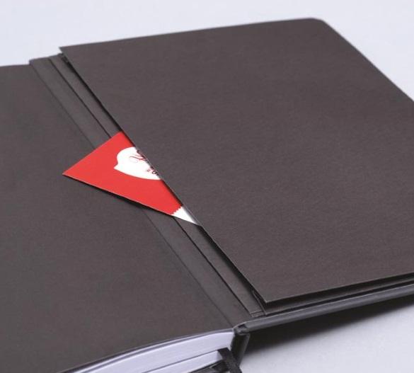 MN35 Mindnotes in Bookcover - Umschlag mit MATRYX Einband