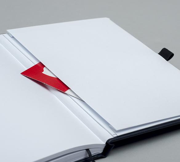 MN32 Mindnotes in Bookcover - Umschlag mit SIENA oder BOLOGNA Einband