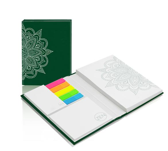 PM110_A6 Notizset im Bookcover-Umschlag