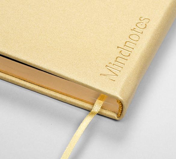 MN32 Mindnotes in Bookcover - Umschlag mit VERONA Einband