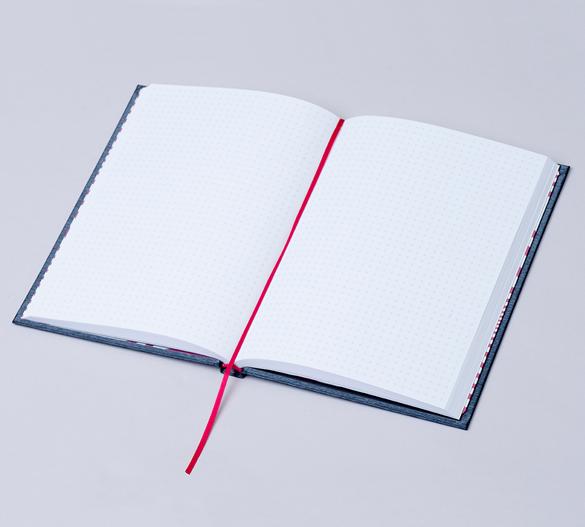 MN35 Mindnotes in Bookcover - Umschlag mit MILANO Einband