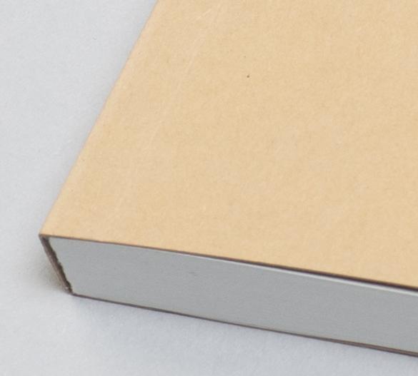 MN11-KRAFT Mindnotes in Softumschlag mit  KRAFT Papier
