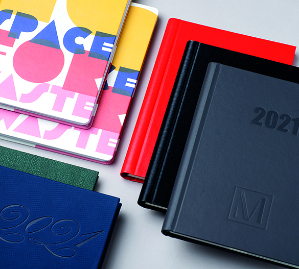 PM301 Wire-O-Notizblock mit Hardcover-Umschlag